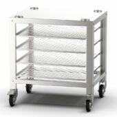 Lincat Convector Floor Stand for CO223M/CO223T/CO235M/CO235T Convection Ovens - with 4 Runners - W 810 mm