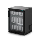 IMC Ventus VR60 Glass Froster [Front Load] - Glass Door - Black Painted Frame - H 800 mm - W 600 mm