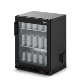 IMC Ventus VR60 Glass Froster [Front Load] - Full Front Glass Door - Black Painted Frame - H 800 mm - W 600 mm