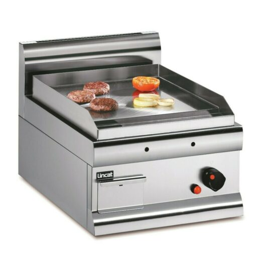 Lincat Silverlink 600 Natural Gas Counter-top Griddle - Steel Plate - W 450 mm - 5.4 kW