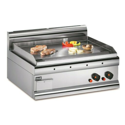 Lincat Silverlink 600 Natural Gas Counter-top Griddle - Steel Plate - W 750 mm - 7.5 kW