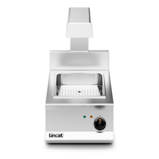 Lincat Opus 800 Electric Counter-top Chip Scuttle - W 400 mm - 1.5 kW