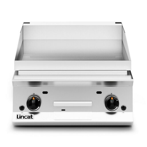 Lincat Opus 800 Propane Gas Counter-top Griddle - Chrome Plate - W 600 mm - 15.5 kW