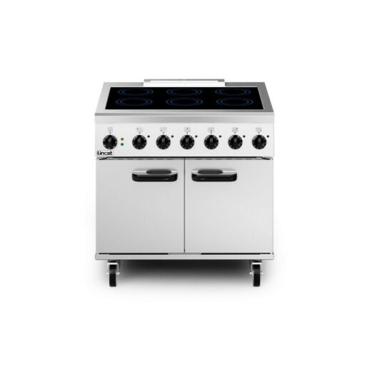 Lincat Phoenix Electric Free-standing Induction Oven Range - 6-Zone - W 900 mm - 13.0 kW [1-Phase]
